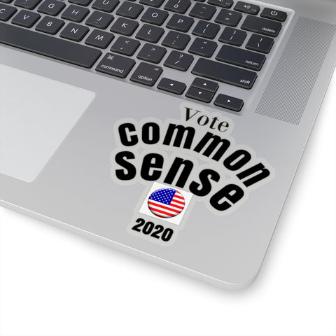 Vote/CommonSense/Kiss-Cut Stickers