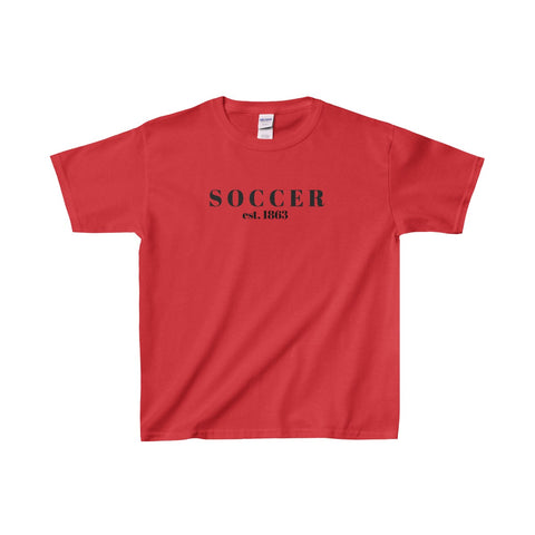 Soccer / Gildan® Heavy Cotton™ Youth T-Shirt - Retro Guy Apparel