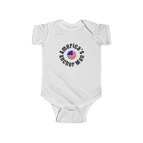 America'sAnchorman/Infant Fine Jersey Bodysuit