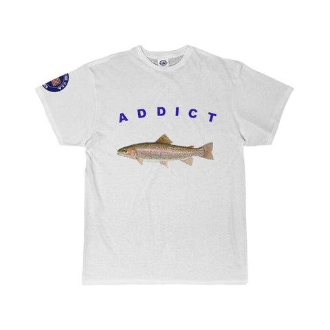 TROUT/addictapparel/Adult Short Sleeve Tee - Retro Guy Apparel