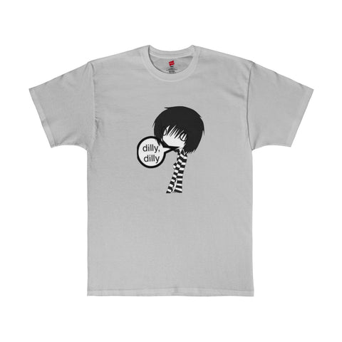 Stick Figure / She / Dilly,dilly / Men's Tagless Tee - Retro Guy Apparel
