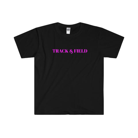 Track & Field / Softstyle® Adult T-Shirt / Retro Guy Apparel