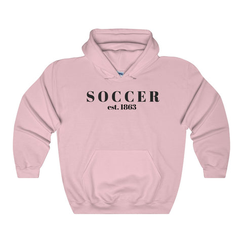 Soccer / Generic BLK / Unisex Heavy Blend Hooded Sweatshirt - Retro Guy Apparel