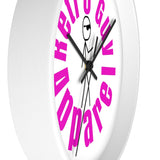 RetroGuyLogo / Wall clock - Retro Guy Apparel