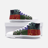 RetroWear/Unisex High Top Canvas Shoes