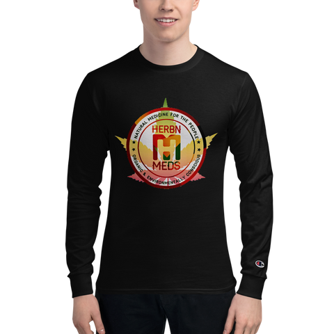 HerbNMeds/Men's Champion Long Sleeve Shirt