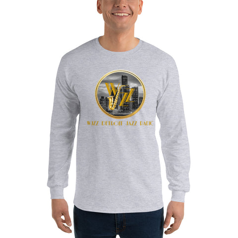 WJZZ/Detroit/Men's Long Sleeve Shirt - Retro Guy Apparel