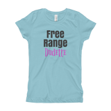 Free Range / Dudette / Girl's T-Shirt - Retro Guy Apparel