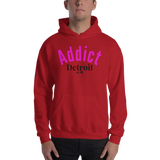 Addict/Detroit/Hooded Sweatshirt