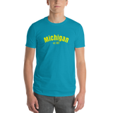 Michigan / Short-Sleeve T-Shirt - Retro Guy Apparel