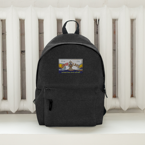 GooseLakeMusicFestival/Embroidered Backpack
