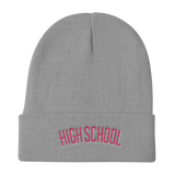 High School Knit Beanie - Retro Guy Apparel