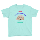 PUREIMAGIATION-Youth Short Sleeve T-Shirt/golden puppy - Retro Guy Apparel