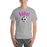 Addict/Soccer/Short-Sleeve T-Shirt - Retro Guy Apparel