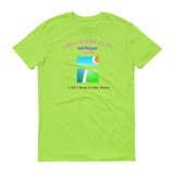 NAMEDROP/ Traverse City /Short sleeve t-shirt - Retro Guy Apparel