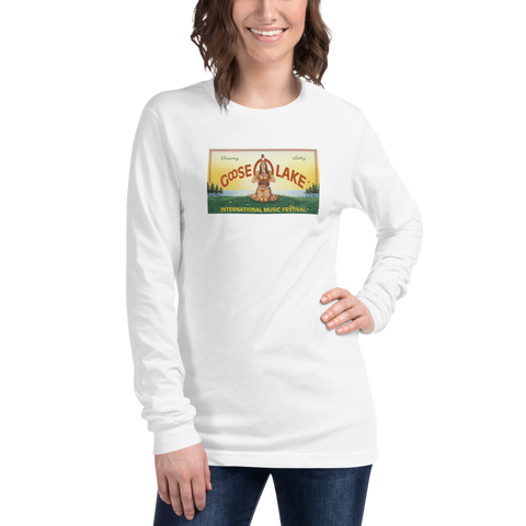 GooseLake/Michigan/Unisex Long Sleeve Tee
