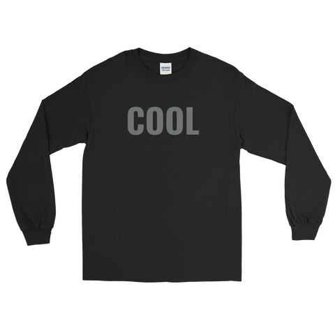 Cool / L/S Tee Shirt / Retro Guy Apparel