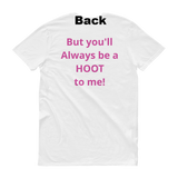 Parody / Hoot-Owl / Short-Sleeve T-Shirt - Retro Guy Apparel