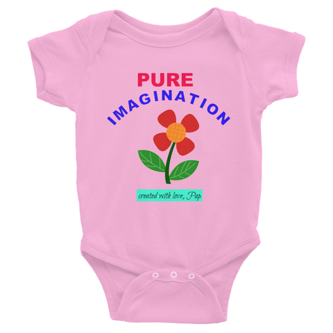 PUREIMAGINATION/poppy/Infant Bodysuit - Retro Guy Apparel