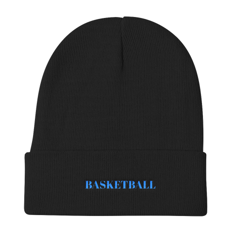 Basketball / Knit Beanie - Retro Guy Apparel