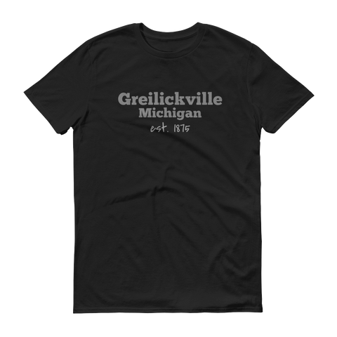 Greilickville / Short-Sleeve T-Shirt / Retro Guy Apparel
