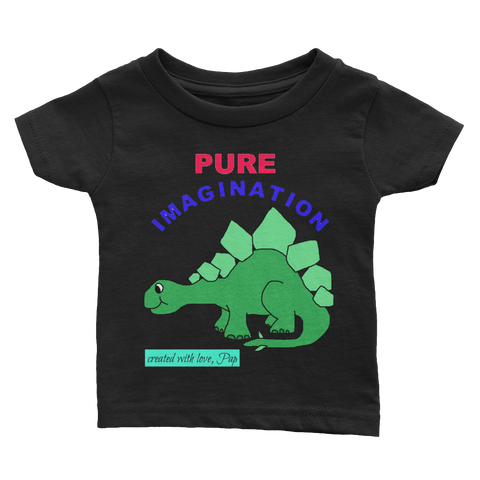 PURE IMAGE dino1-Infant Tee - Retro Guy Apparel