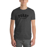Poker /front-back/Short-Sleeve T-Shirt