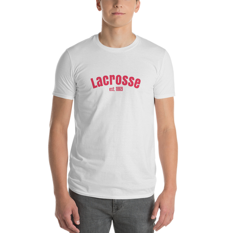 Lacrosse / Sport / Short-Sleeve T-Shirt - Retro Guy Apparel