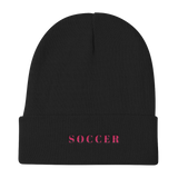 Soccer / Knit Beanie - Retro Guy Apparel