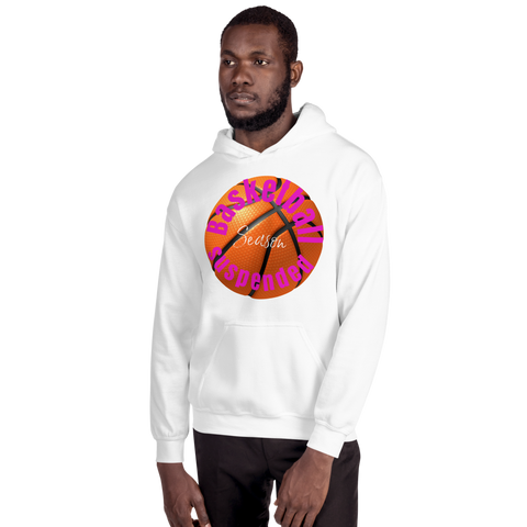 BasketballSuspended/Unisex Hoodie - Retro Guy Apparel