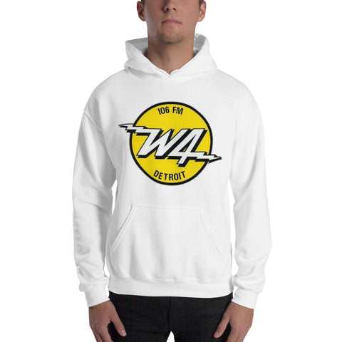 W4/Detroit/Hooded Sweatshirt - Retro Guy Apparel