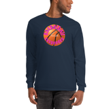 BasketballSuspended/Men's Long Sleeve Shirt - Retro Guy Apparel