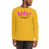 Addict/Detroit/Long Sleeve T-Shirt - Retro Guy Apparel