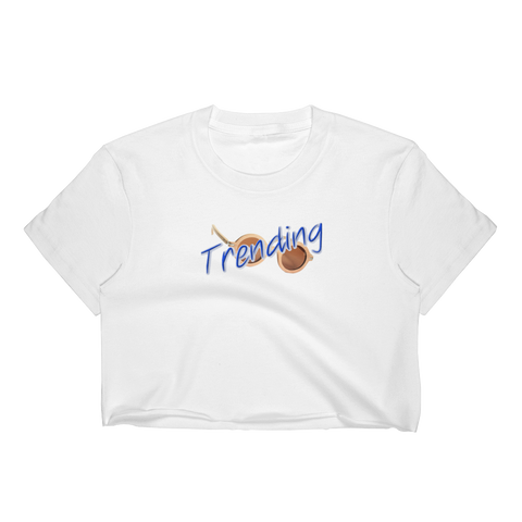 TRENDING/roundglasses/Women's Crop Top - Retro Guy Apparel
