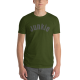 Junkie/Short-Sleeve T-Shirt - Retro Guy Apparel