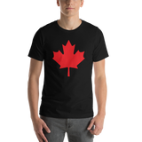 Canada/Maple leaf/Short-Sleeve Unisex T-Shirt - Retro Guy Apparel