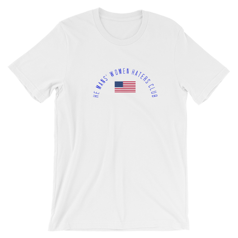 Unisex short sleeve t-shirt-USAhemans - Retro Guy Apparel