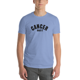 Cancer/Beat it/Short-Sleeve T-Shirt - Retro Guy Apparel