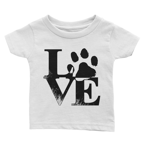 Love / Infant Tee-365ts+ - Retro Guy Apparel