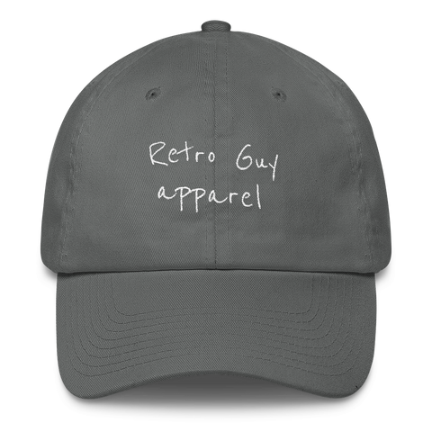 RETROGUY/script/Cotton Cap - Retro Guy Apparel