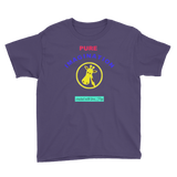 PUREIMAGINATION-Youth Short Sleeve T-Shirt/giraffe - Retro Guy Apparel