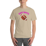 CoedSports/Football/Short-Sleeve T-Shirt - Retro Guy Apparel