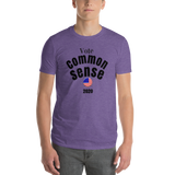 Vote/CommonSense/Short-Sleeve T-Shirt - Retro Guy Apparel
