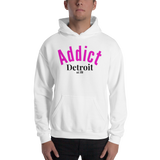 Addict/Detroit/Hooded Sweatshirt - Retro Guy Apparel