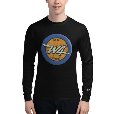 W4/detroit/Men's Champion Long Sleeve Shirt