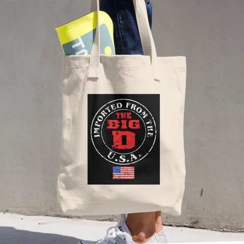 Cotton Tote Bag - Retro Guy Apparel