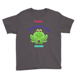 PUREIMAGINATION-Youth Short Sleeve T-Shirt/froggy - Retro Guy Apparel