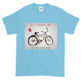 BEAUTIFUL RIDE/ Bicycle / Short-Sleeve T-Shirt - Retro Guy Apparel