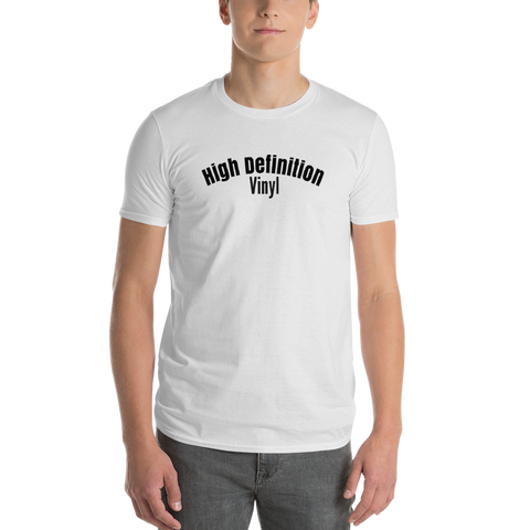 High Definition Vinyl / Short-Sleeve T-Shirt - Retro Guy Apparel