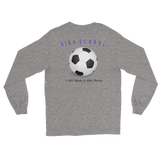 RETROGUY/H.S.soccer/Long Sleeve T-Shirt/front-backprint - Retro Guy Apparel
